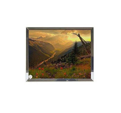 Porta Retrato de Vidro Com Sua Foto Impresso na Peça