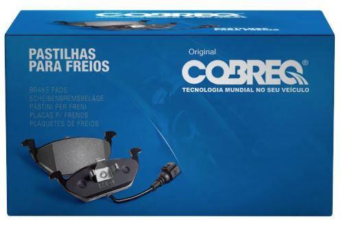 PASTILHA FREIO DIANTEIRA COBREQ FORD F1000 1993-1994 - N317