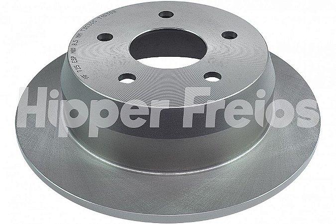 DISCO FREIO TRASEIRO HIPPER FREIOS CHRYSLER CHEROKEE LIMITED 4.7 V8 4X4/SPORT 4.0 4X4 1999 A 2002 - HF725