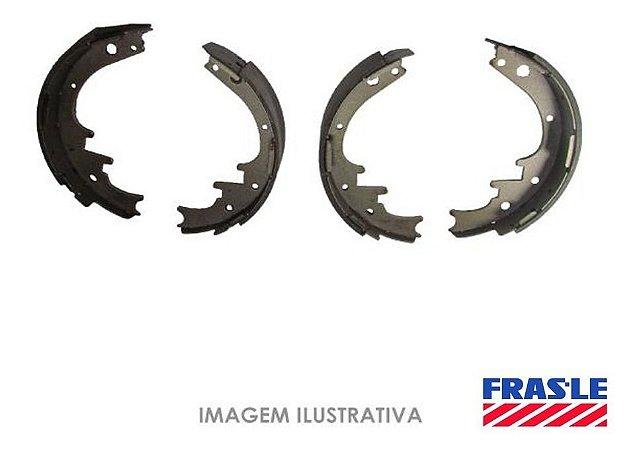 Sapata Freio Traseiro Frasle Nissan Livina 1.8 16v 2010/2013 - Ni176cp