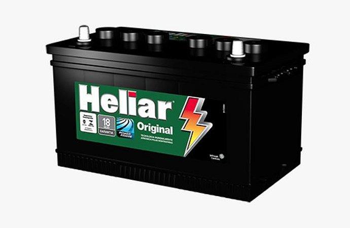 Bateria Carro 75amp Heliar Original Lado Direito - Hg75ld