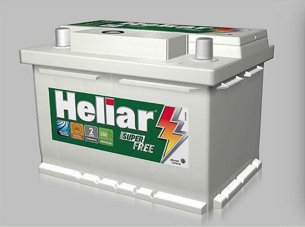 Bateria Carro 48amp Heliar Super Free Lado Direito - Hf48bd