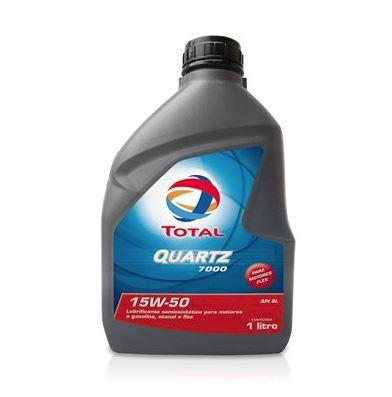 Oleo Lubrificante Motor 15w50 Quartz 7000 Api Sl 1 Litro - 207835
