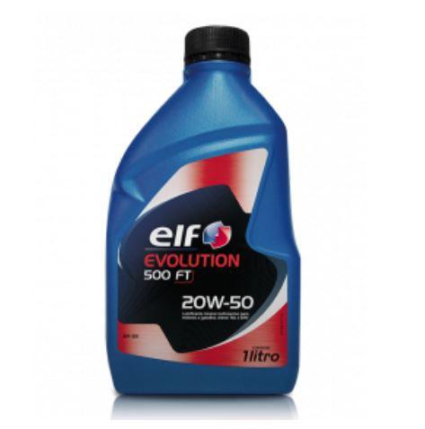 Oleo Lubrificante Motor 20w50 Evolution 500 Ft 1 Litro - 206648