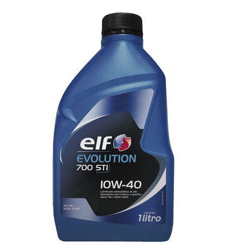 Oleo Lubrificante Motor 10w40 Elf 1 Litro Semi-sintetico - 206396