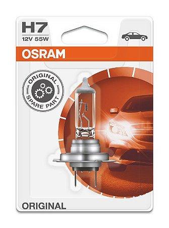 Lâmpada Osram Halogena H7 12v - 64210classic