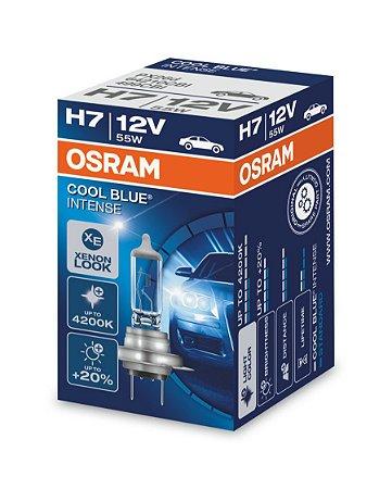 Par Lâmpada Osram Cool Blue H7 12v - 64210cbi