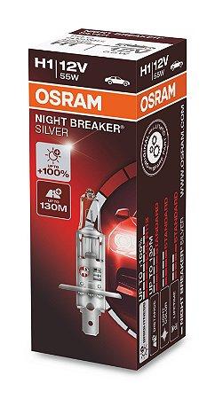 Lâmpada Osram Night Breaker H1 12v - 64150nb