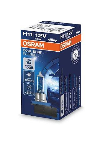 Par Lâmpada Osram Cool Blue H11 12v 55w - 64211cbi