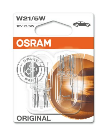 Lâmpada Osram Glass Wedge 12v W21/5w - Lo7515