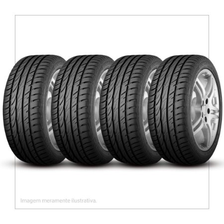 Kit 4 Pneus Continental Aro 14 175/65r14 ContiPowerContact 82t - 03572990000