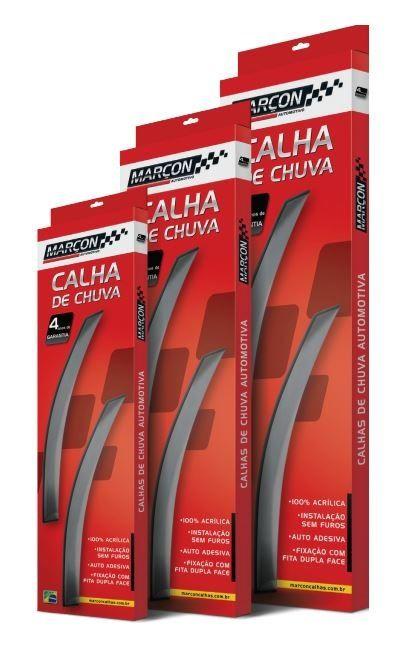 Calha Chuva Marcon Honda Fit /08 4 Portas - Ho034