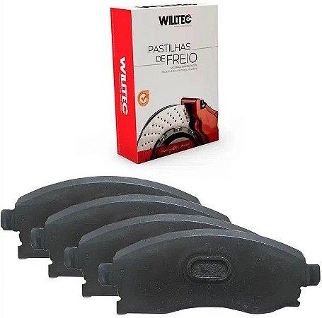Pastilha Freio Dianteiro Willtec Mitsubishi Asx 2.0 16v 10/ - Pw592