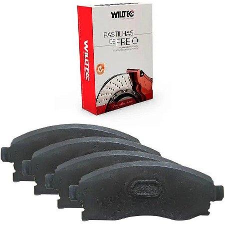 Pastilha Freio Traseiro Willtec Peugeot 408 2.0 16v 11/14 - Pw896