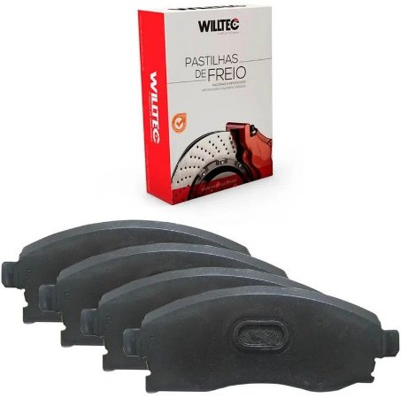 Pastilha Freio Dianteiro Willtec Nissan Kicks 1.6 16v 16/ - Pw968