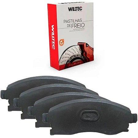 Pastilha Freio Dianteiro Willtec Honda Fit 1.5 14/ - Pw244