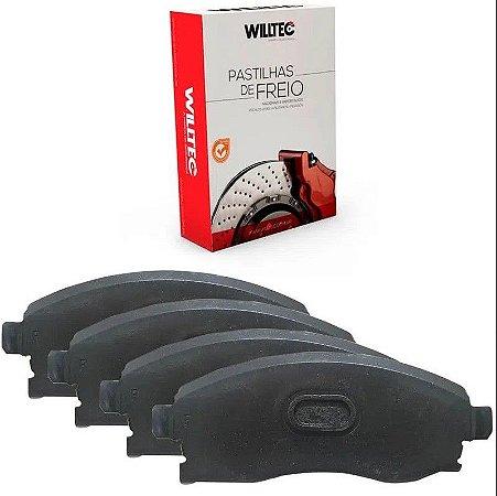 Pastilha Freio Dianteiro Willtec Peugeot 307 2.0i 16v 00/ - Pw544