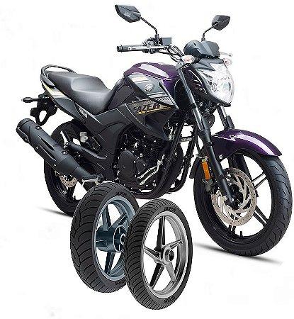 Kit Pneu Moto Yamaha Fazer 250/bluerflex Diant/tras
