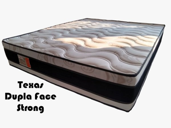 Colchão Texas Dupla Face Strong  138x 188x 30
