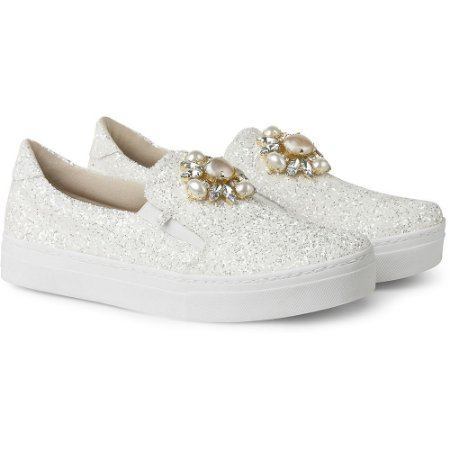 SLIP-ON IT – GLITTER BRANCO PREMIUM