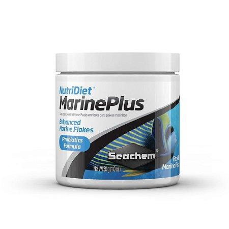 Ração Seachem Nutridiet Marine Plus Flakes