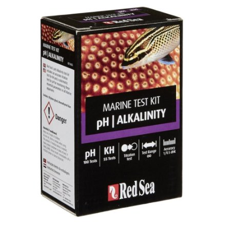 Red Sea Marine Test Kit PH/Alkalinity (Ph/Kh)