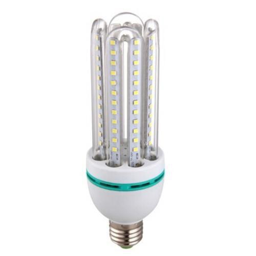 Lâmpada Econômica LED 9W 3U Bivolt 3000K Branco Quente