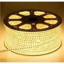 Mangueira de LED 3528 Branco Quente (Luz Amarela) rolo com 100 metros