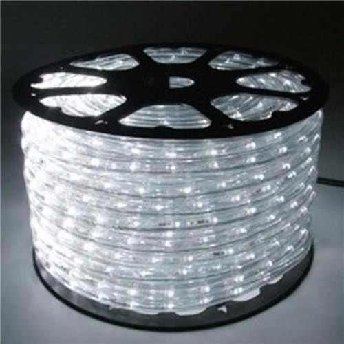 Mangueira de LED 3528 Branco Frio (Luz Branca) rolo com 100 metros