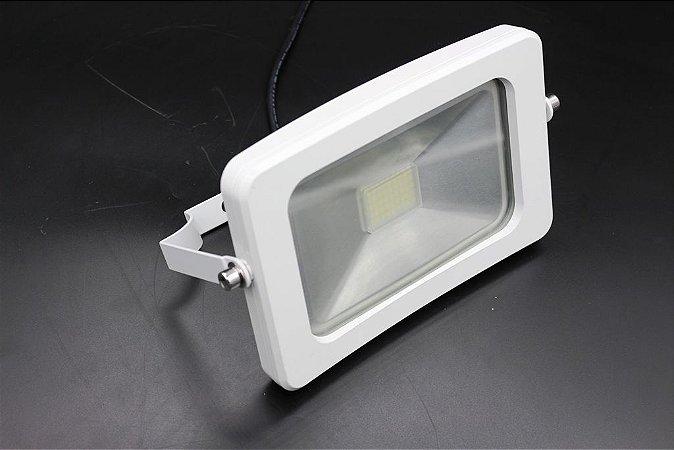 Refletor Ipad Branco Led 20w Branco Frio 6500K  IP66