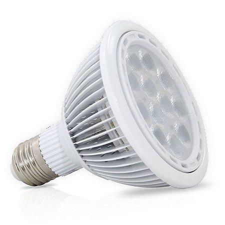 Lâmpada Dicróica LED Par30 12w E27 Branco Quente 3000K 840 Lumens Bivolt