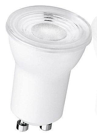 Lâmpada Mini Dicroica MR 11 GU10 4W Branco Frio