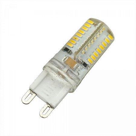 Lâmpada Led BipinoHalopin G9 4,5w 220V 6500K Branco Frio
