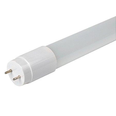 Lâmpada Tubular Vidro LED 9w T8 60cm 6500K Branco Frio