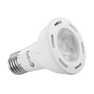 Lâmpada LED PAR20 Brilia Dimerizável 6,5W 127V 3000K Inmetro