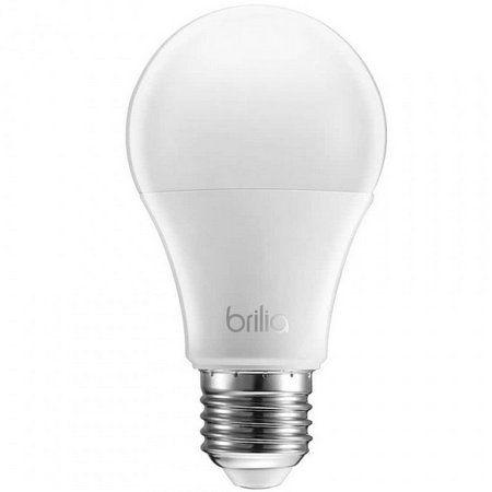 Lâmpada LED Bulbo A60 Brilia Dimerizável 9,5W 127V 2700K Branco Quente