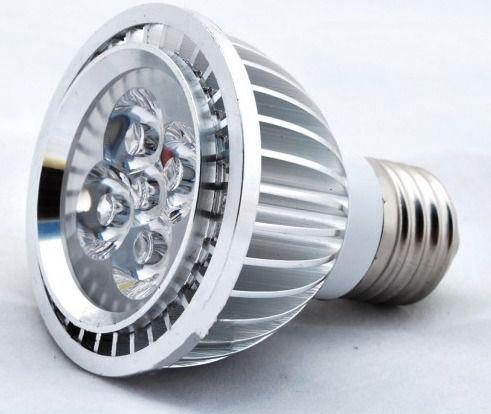 Lâmpada de LED 5W Par20 Aro Cromado Branco Frio 6500K Bivolt