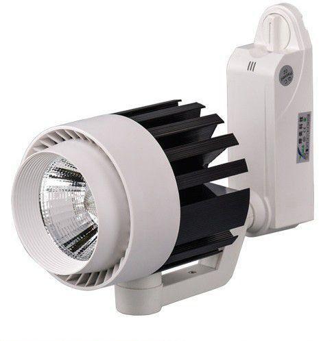 Spot LED para Trilho Eletrificado 20W Branco Quente 3000K  Bivolt