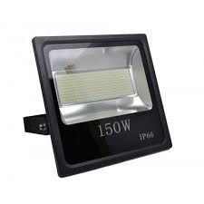Refletor Microled SMD 150w Branco Frio 6000K Bivolt IP66