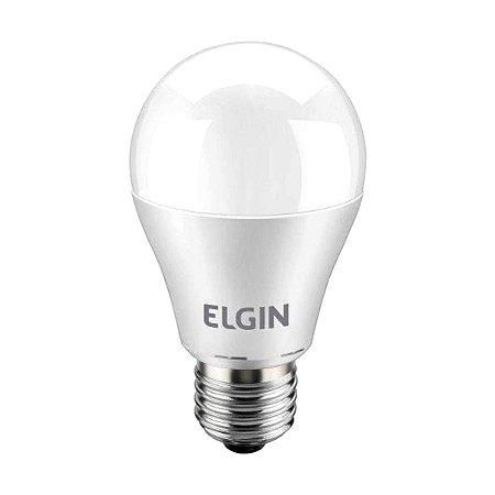 LAMPADA BULBO LED ELGIN A60 12W BIVOLT 6500K BRANCO FRIO INMETRO