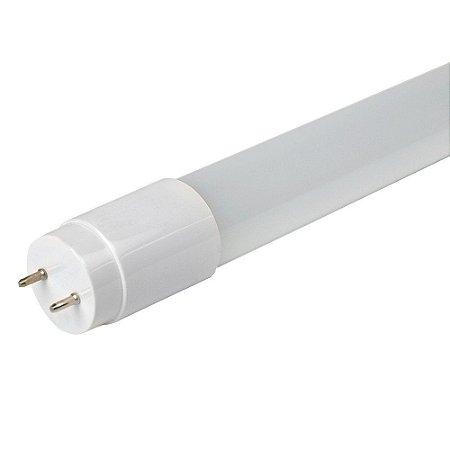 Lâmpada Tubular LED Nano 18w T8 120cm Policarbonato 2L 6500K Branco Frio Inmetro