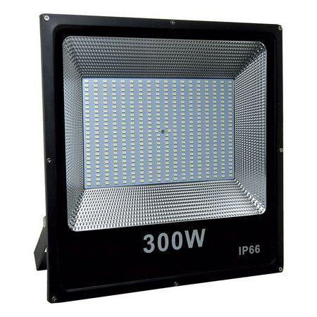 Refletor Microled SMD 300w 6500K Branco Frio Bivolt IP66