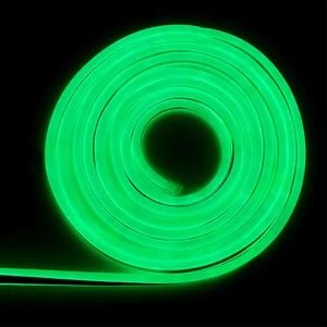 Mangueira led neon flex verde 127v ip66 1 metro