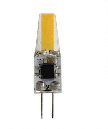 Lâmpada Led Halopin G4 3W COB 220V 3000K Branco Quente