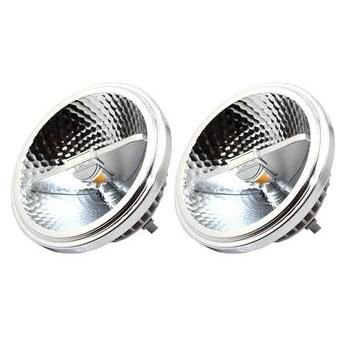 Lâmpada Dicróica LED AR111 10W Driver Led Branco Quente 3000K Bivolt