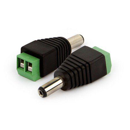 Plug Conector P4 Macho para Fita de Led