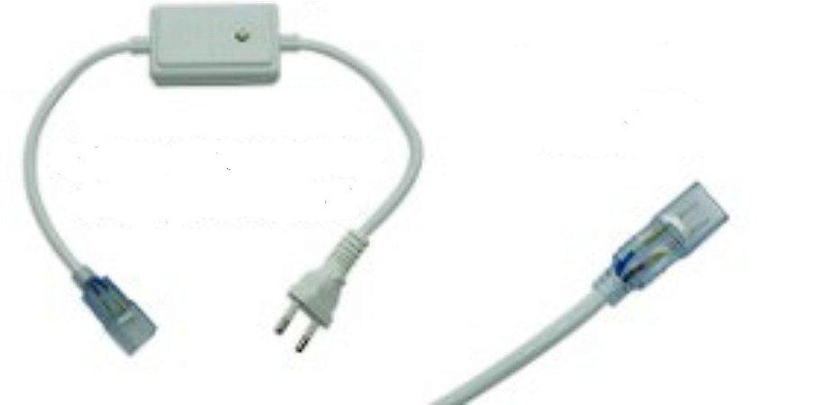 Sequenciador pisca 4 funções para mangueira chata até 20M 10w