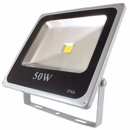 Refletor Led Slim 50W COB Bivolt IP66