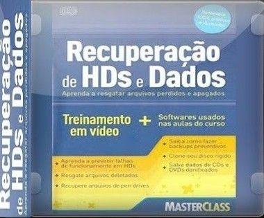 Curso Interativo de Recuperação de HDs e Dados