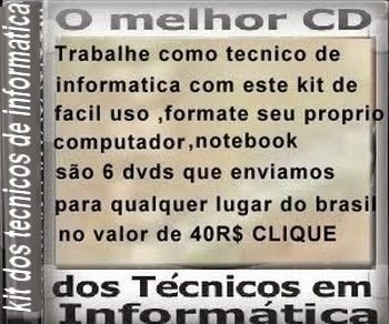 Kit tecnico em informatica anti invasao